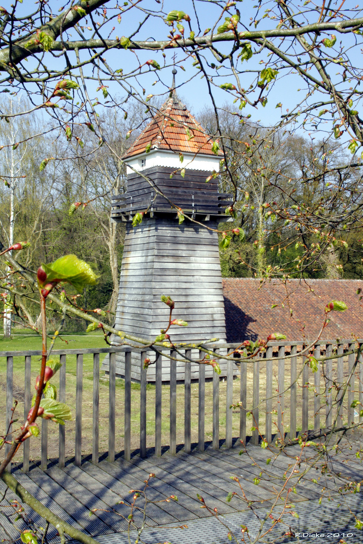 Dieser Turm ist in Rheine
