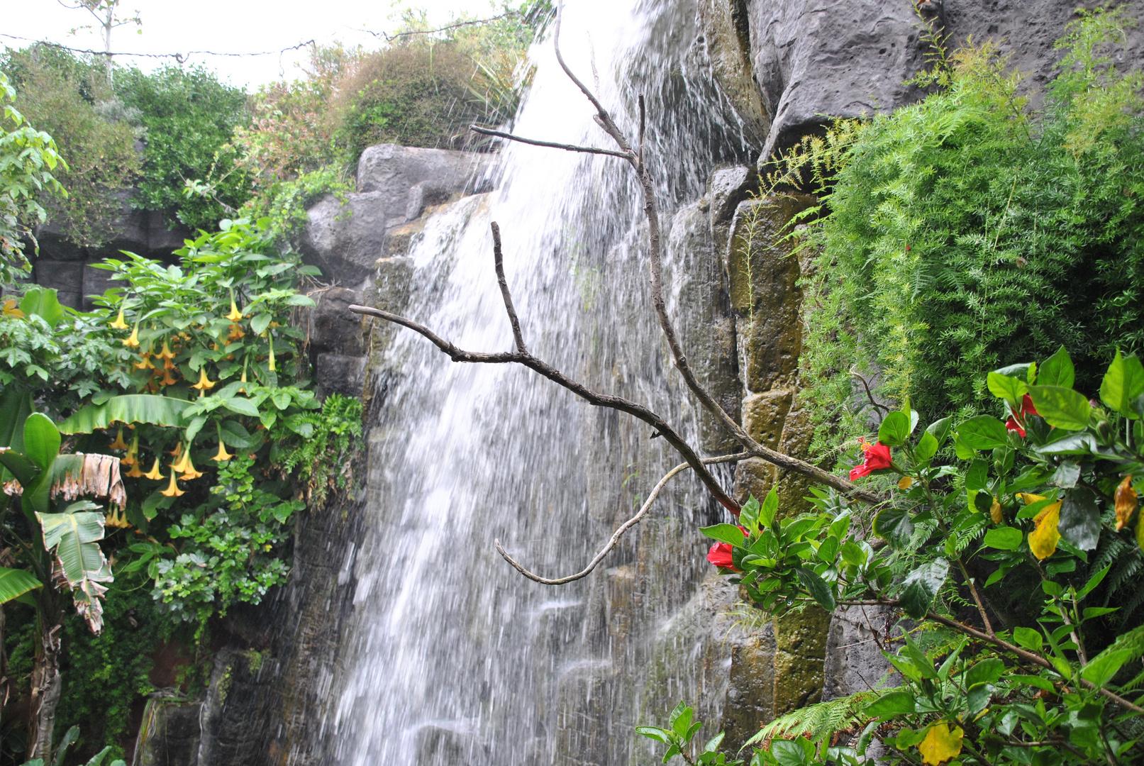 Dieser Wasserfall besticht durch seine besondere Schönheit und Vielfalt