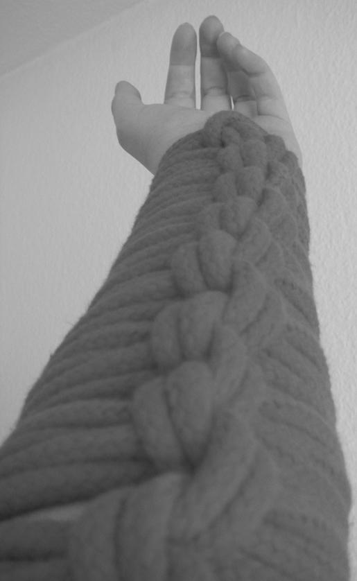 Dieses Mal: Strick um Arm *g*