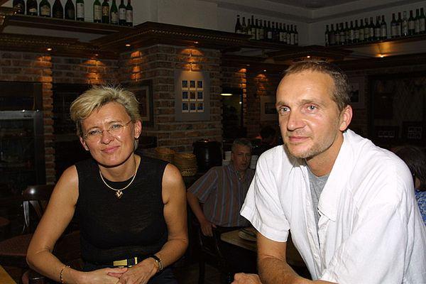 Dieter Frangenberg und Isa