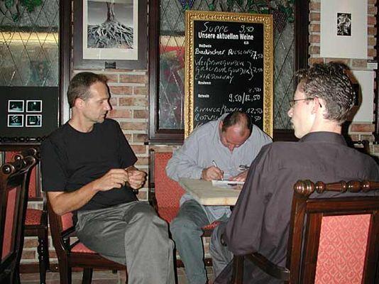 Dieter, GREY! und Kai