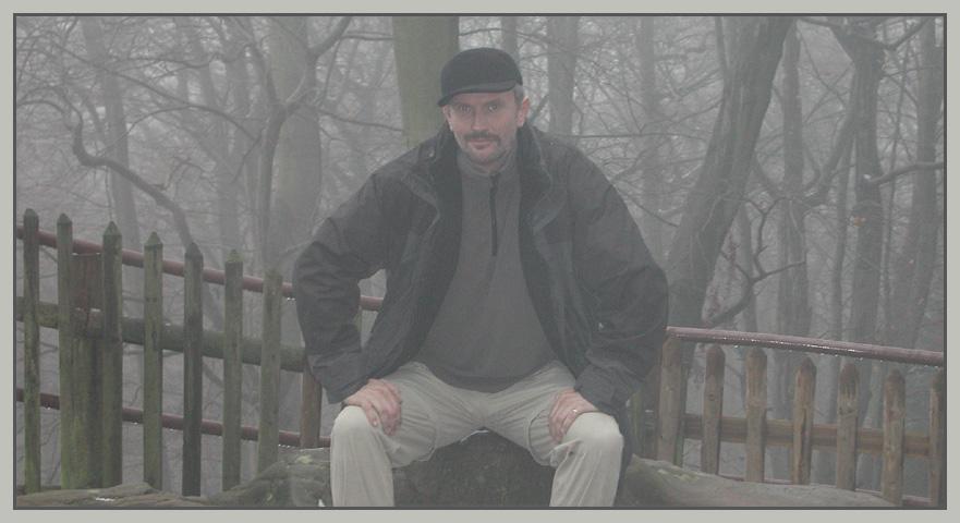 Dieter im Nebel