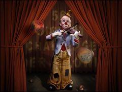 Digiart-Challenge 56 >>> Der Clown <<< Ein Beispielbild was sich aus der Vorlage machen lässt