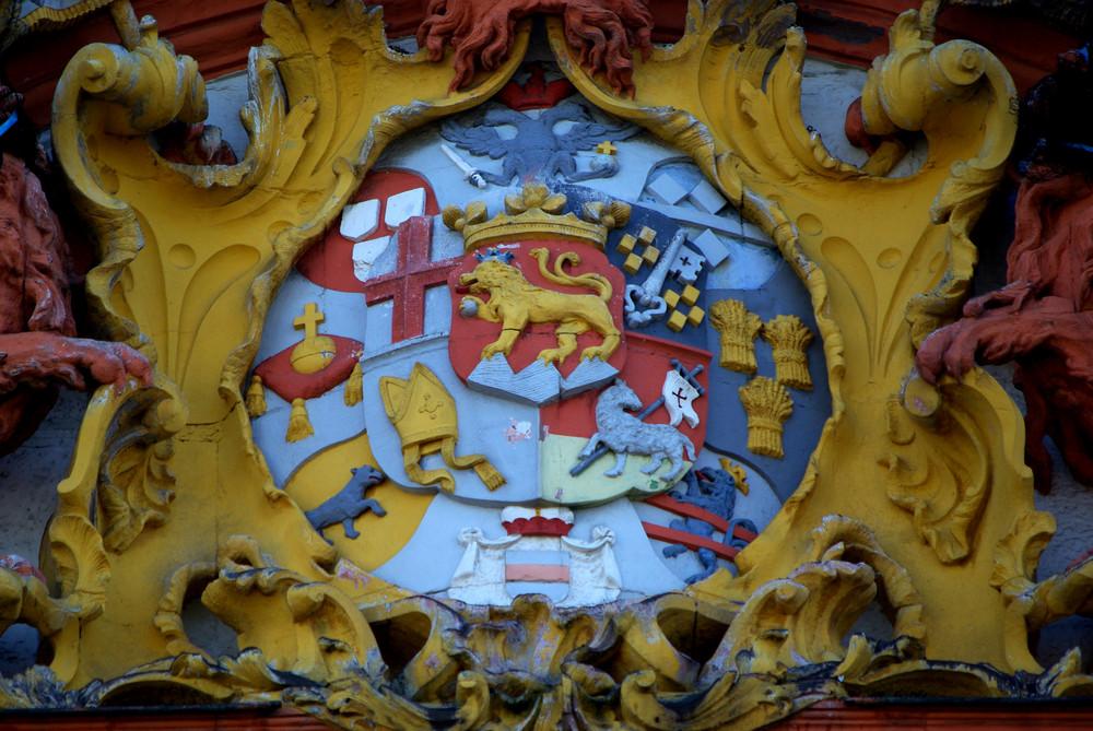 Dikasterialgebäude (kurfürstl. Wappen) Koblenz-Ehrenbreitstein