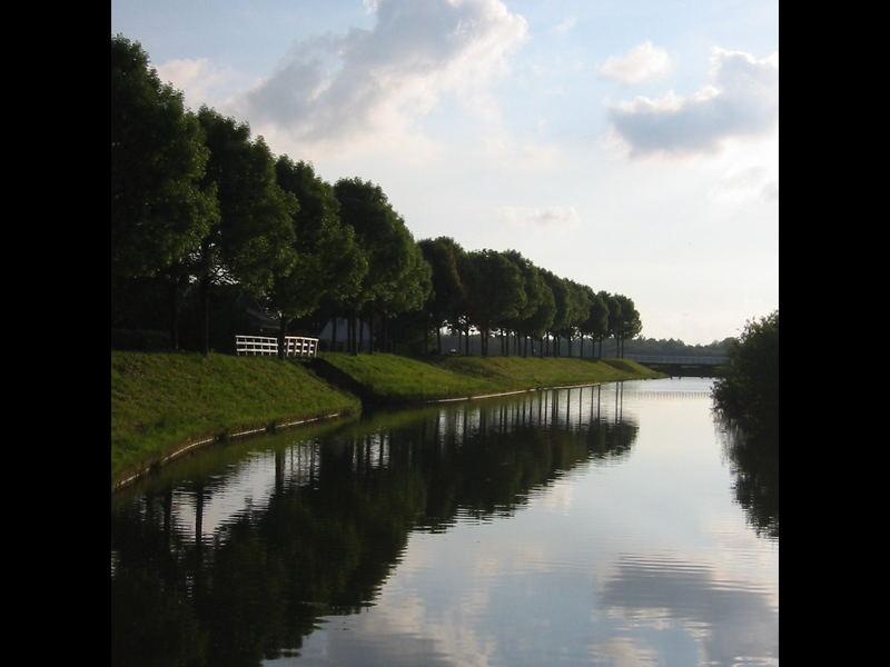 Dike in Enkhuizen