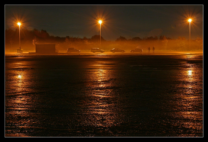 Dillinger Hafen bei Nacht 4