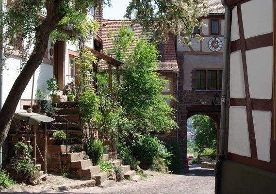 Dilsberg - Beim Stadttor