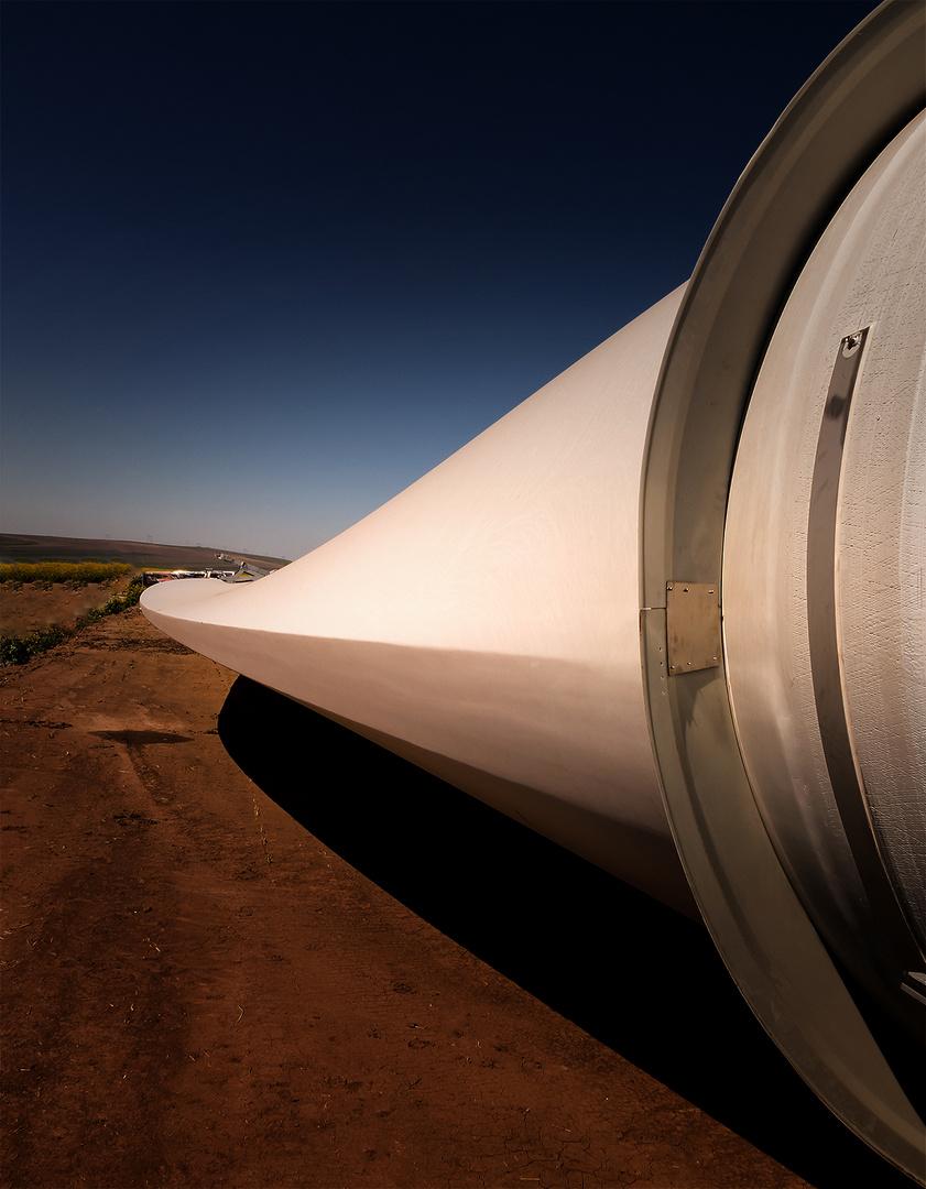 Dimension eines Windrades einer 3 MW Maschine