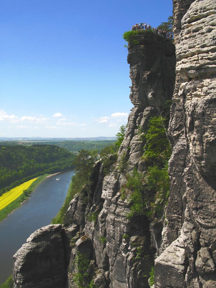 Dimension Fels in Sachsen