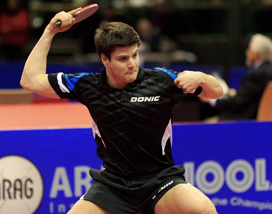 Dimitrji Ovtcharov - Gewinner der Bronzemedaille...