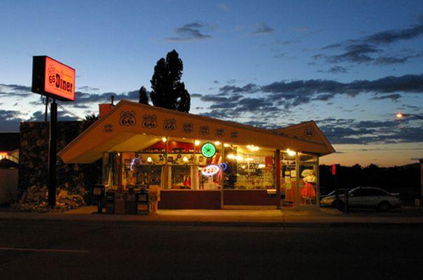 Diner in Williams (Az.)
