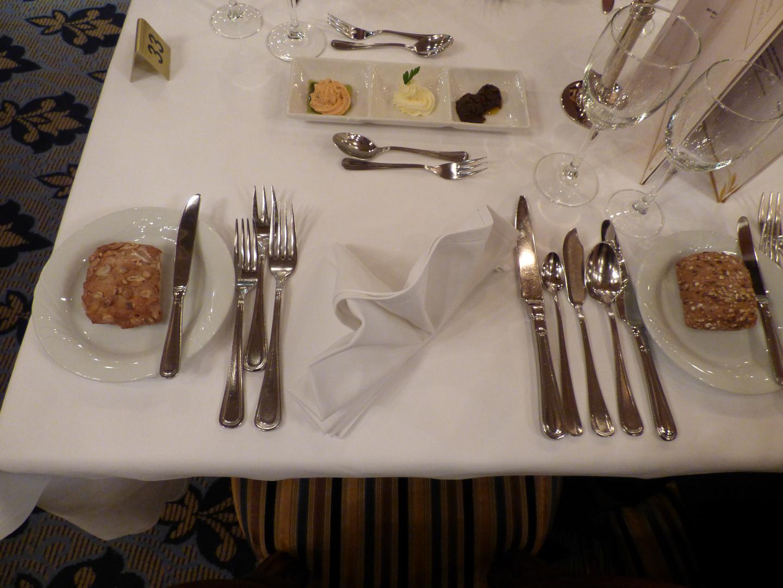 Dinner am Rhein