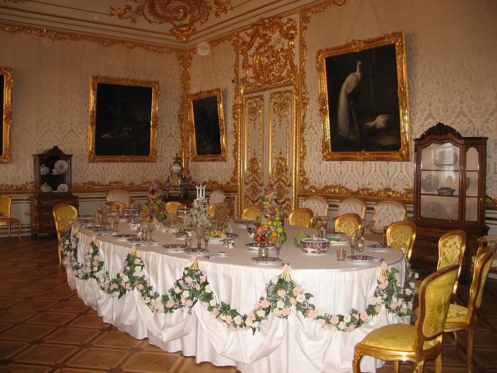 Dinner in St.-Petersburg