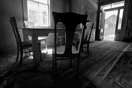 Dinning Room at Bodie Ghost Town