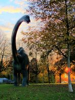 Dino beim Turm #3 (Basel Bruderholz) - HDR