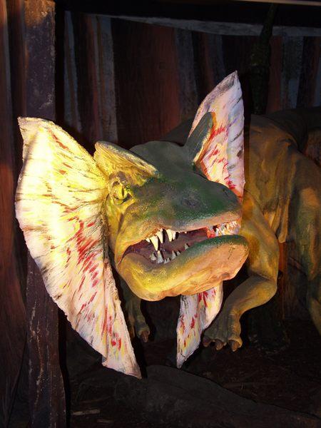Dino mit Zähne