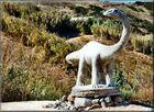 Dinossauro a Porto de Dinheiro.