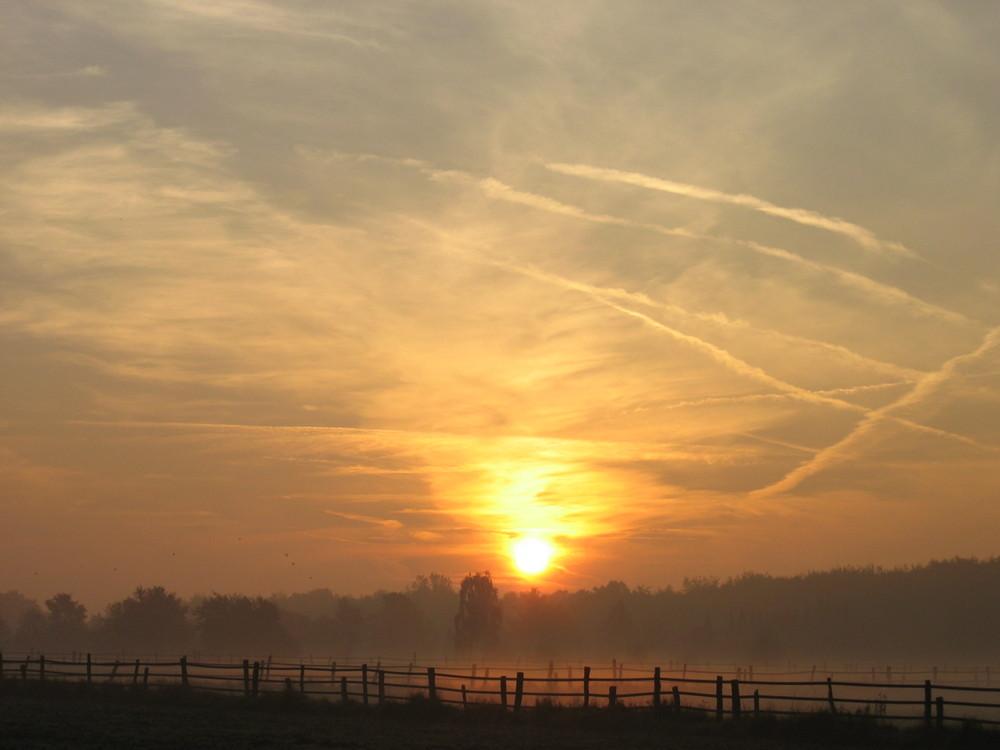 Dinslaken am Morgen