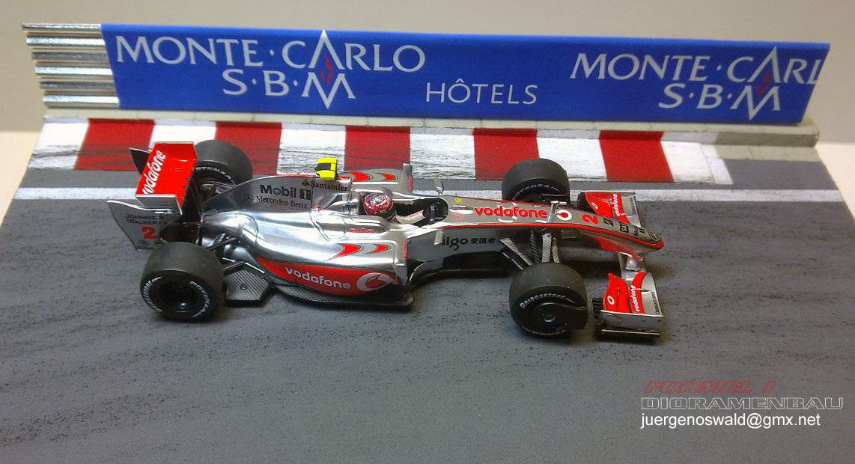 Diorama 1:43 Monaco 09