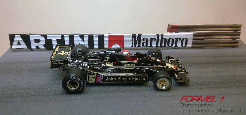 Diorama 1:43 Monaco 78 Andretti