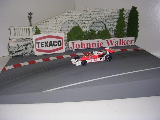 Diorama Monaco Einfahrt Loews 1976 1:43