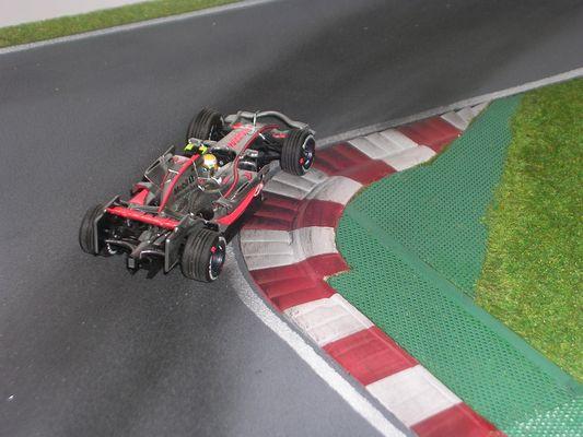 Diorama Nürburgring 09 1:43