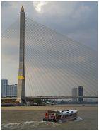 Dipangkorn Rasmijoti Bridge in Bangkok