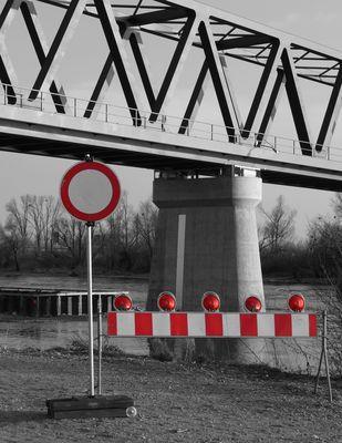 Direktzufahrt in die Donau verboten!