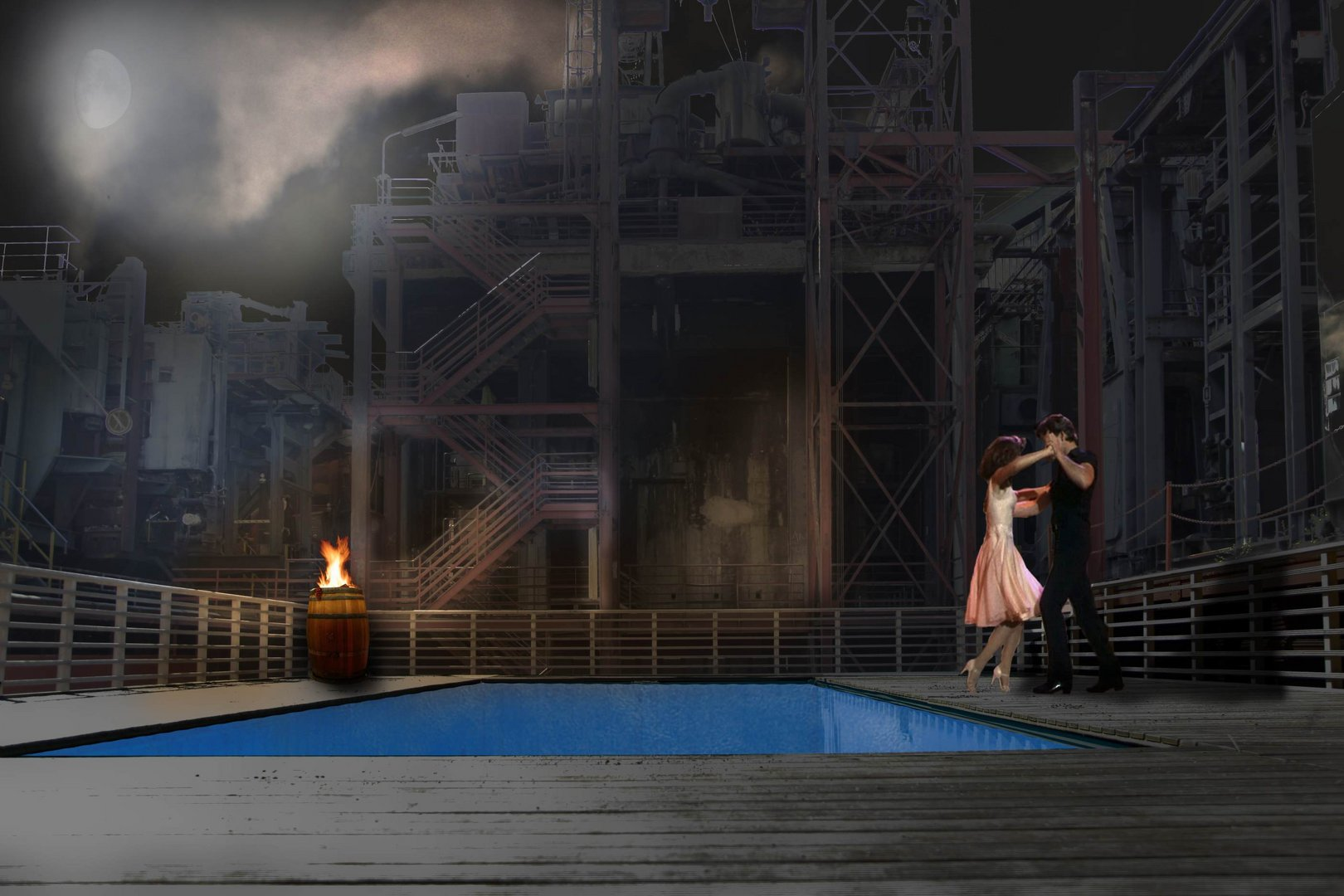 Dirty Dancing auf Zollverein