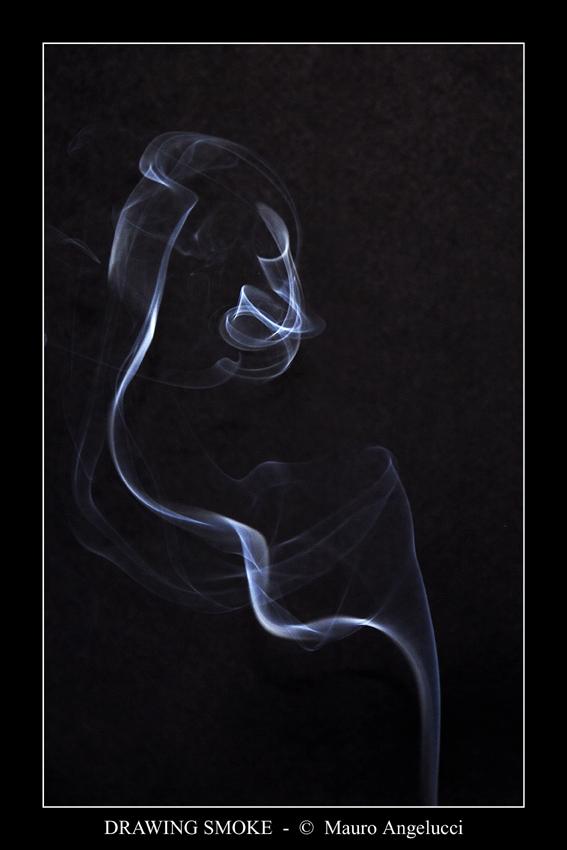 Disegnare con il fumo