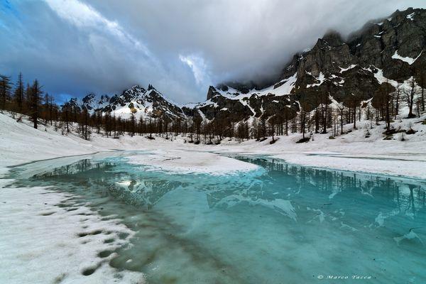 Disgelo al lago Nero