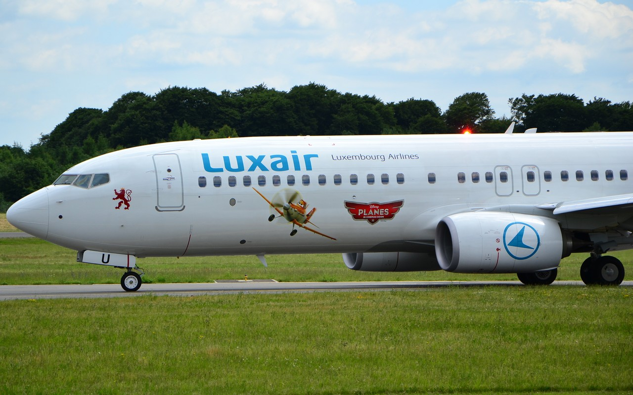Disney meets Luxair