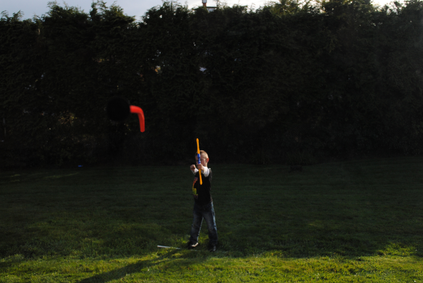 disparo flecha