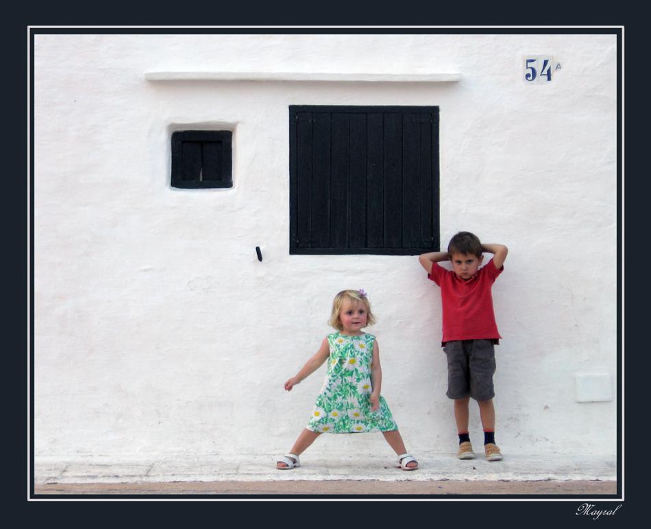 Distintos niños Distintas actitudes