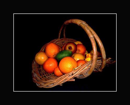 Divers fruits d'hiver
