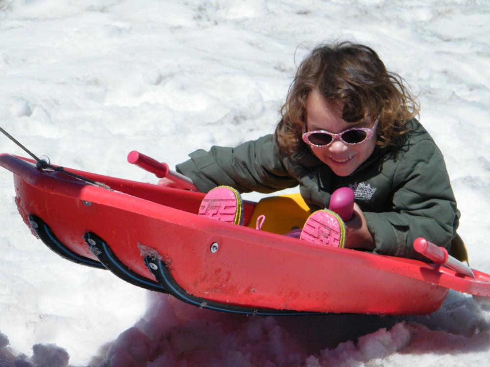 Diversion en la nieve