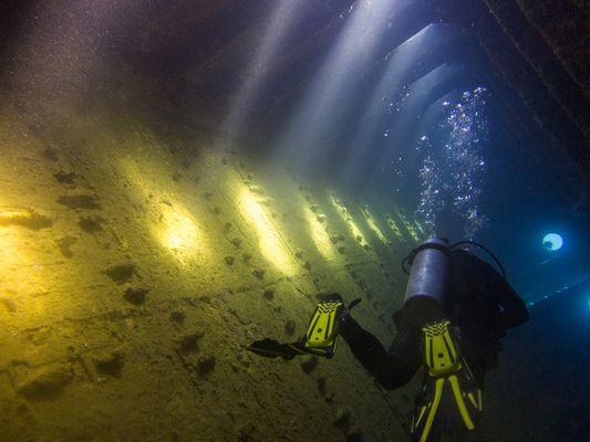 Diving Sudan, Umbria Wreck