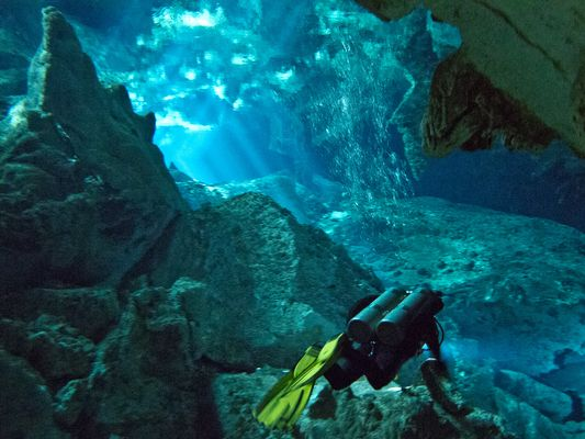 Diving the Cenotes