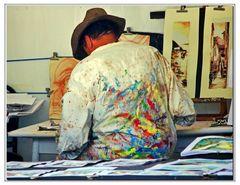 divisa personalizzata da pittore....