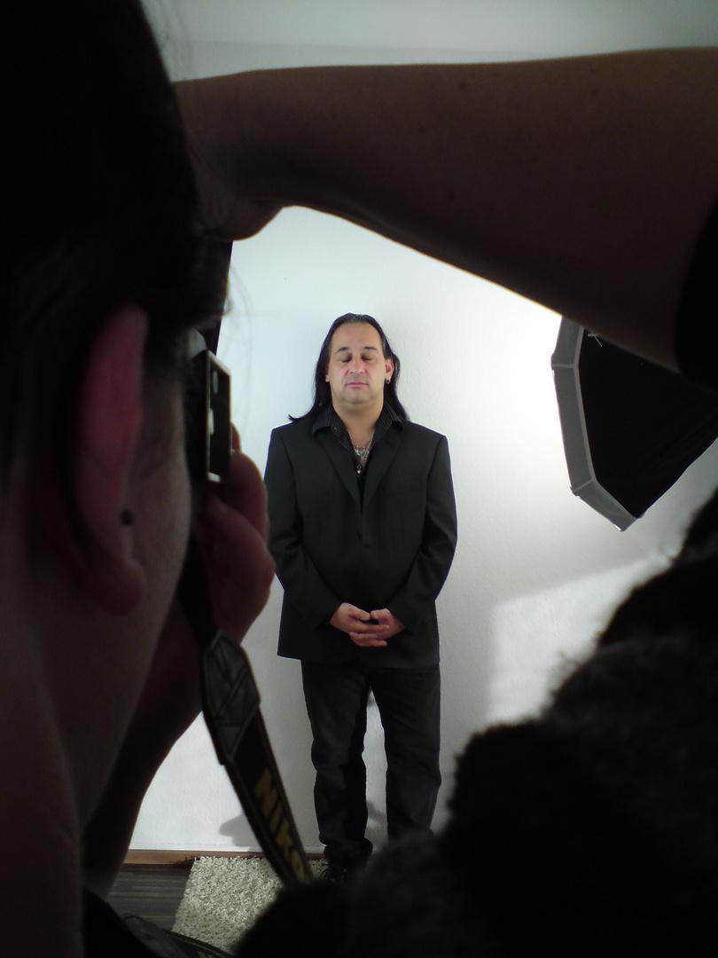 DiWa II beim Portrait-Shooting