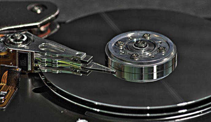 DJ HDD legt ne alte Platte auf... (HDR)