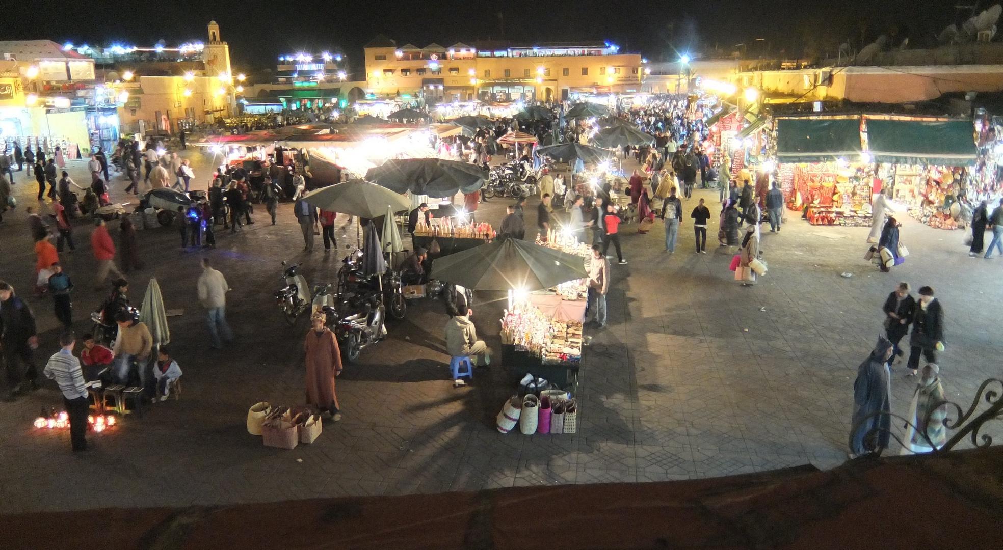 Djemaa-el Fna in Marrakesch