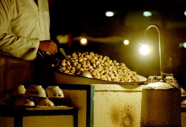 Djemaa el Fnaa Platz am Abend