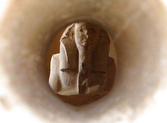Djoser durchs Guckloch