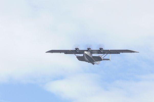 Do-24ATT über Frankfurt