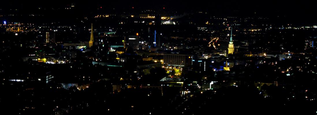 DO-Innenstadt bei Nacht