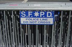 Do not cross!