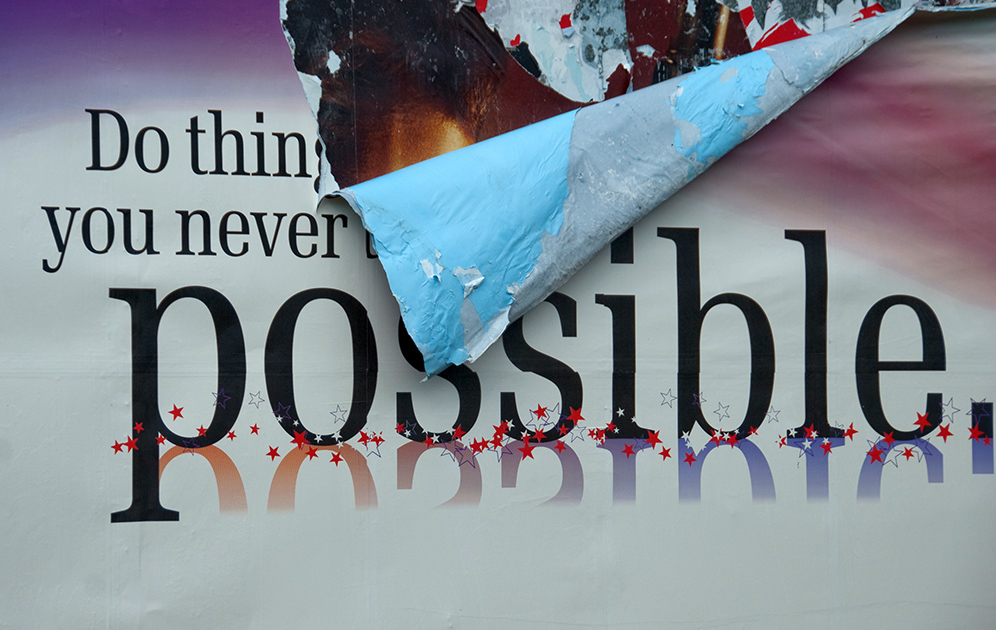 """""""Do things you never thought possible"""""""