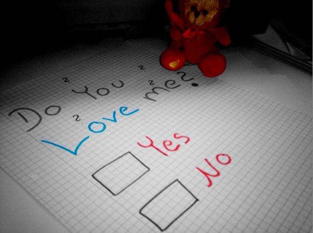 Do you Love me???