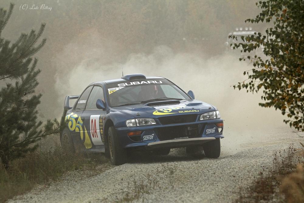 Dobberkau im Subaru WRC